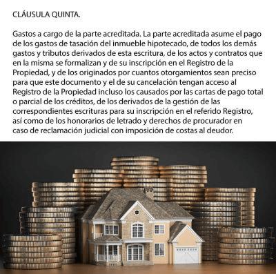 devolución gastos de hipoteca cláusula quinta en España